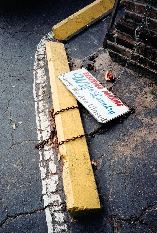 Untitled (Laundry Sign Savannah - colinczerwinski | ello