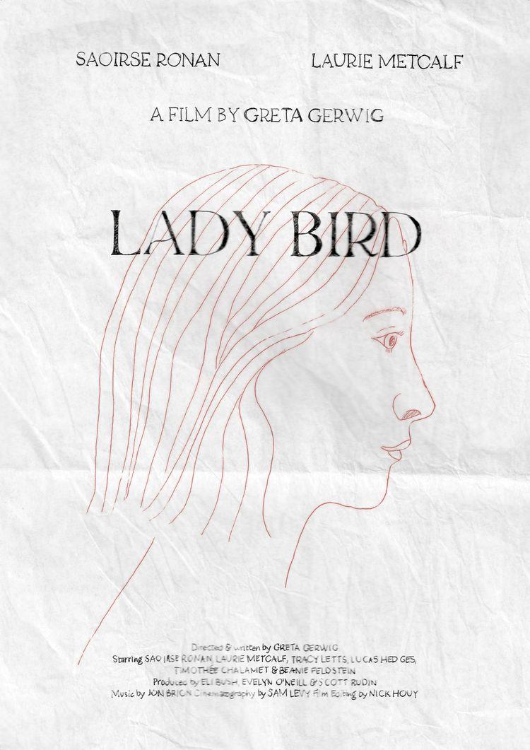 Film poster Lady Bird (USA, 201 - sarahschrauwen | ello