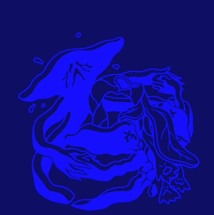 Posed blue copy art approval. f - mikhello | ello