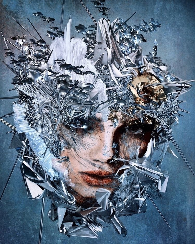𐄪 acupuncture  - mixedmedia, art - ikatch | ello