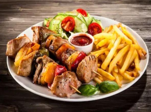Choice lamb, chicken mix kebab  - afghancentral | ello