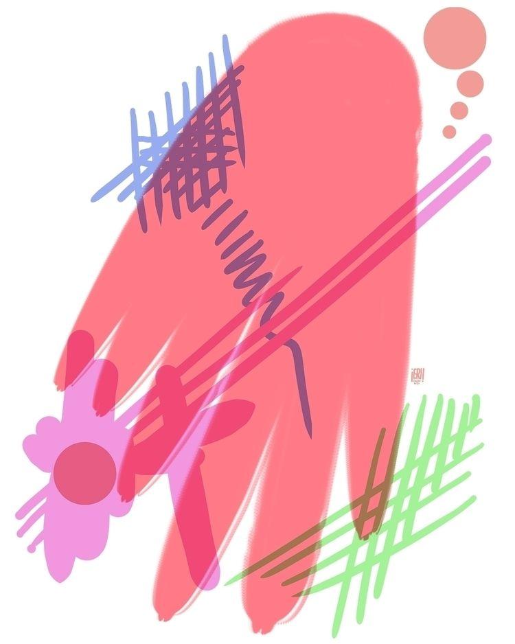 Abstract 4 - elloart, elloabstract - erisado   ello