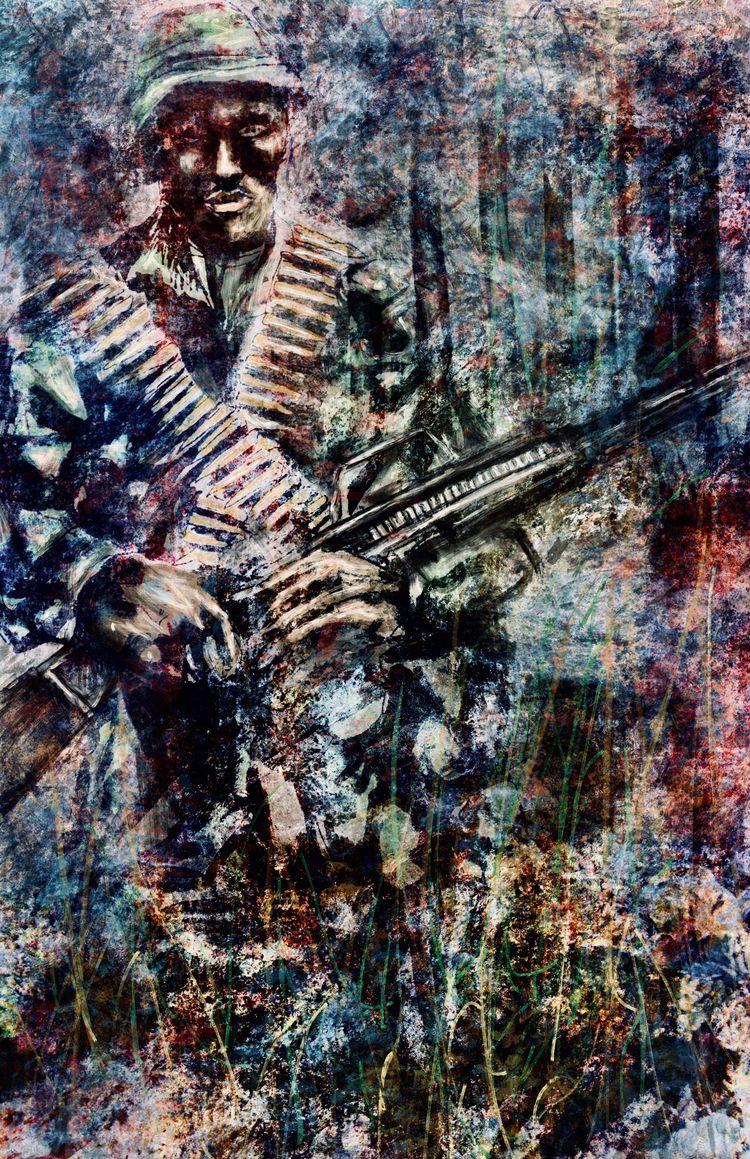 SOLDIER Submit Black Art Matter - vass | ello