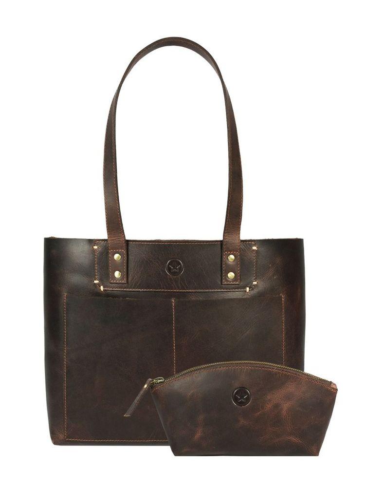 Charlotte Travel Tote Bag Combo - aaronleathergoods | ello