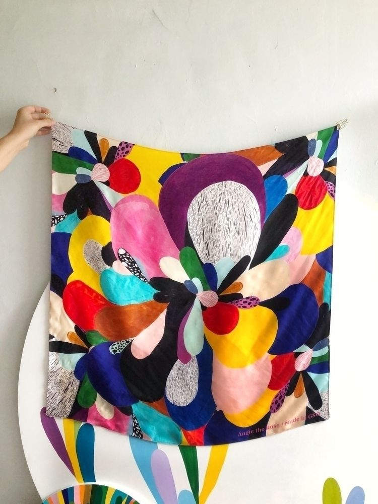 love scarf Designed locally - angietherose | ello