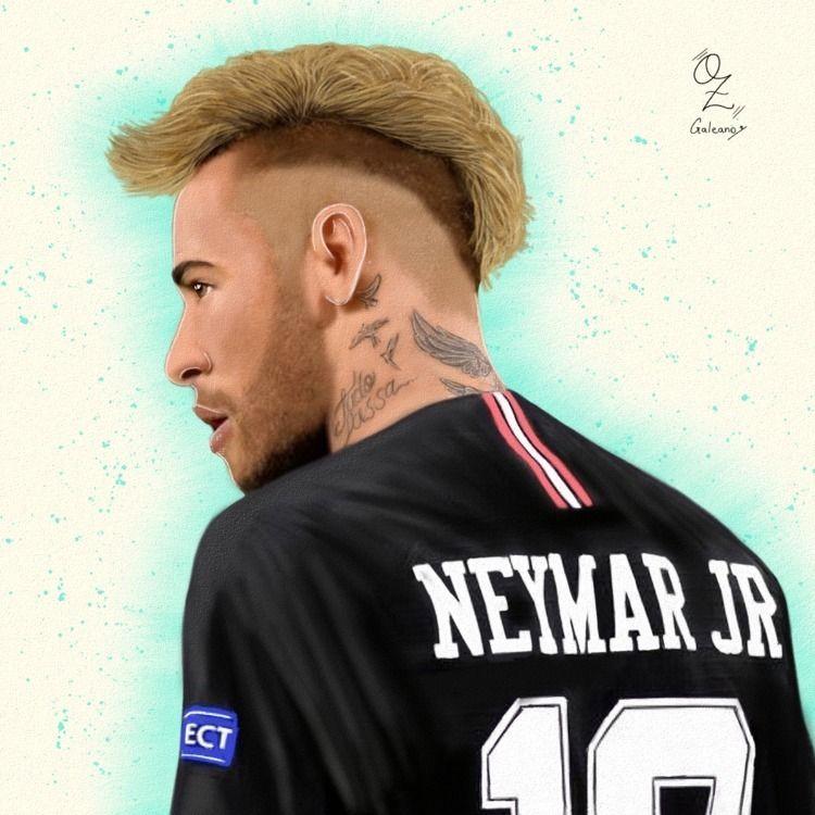 Neymar Portrait drawing Oz Gale - ozgaleano | ello