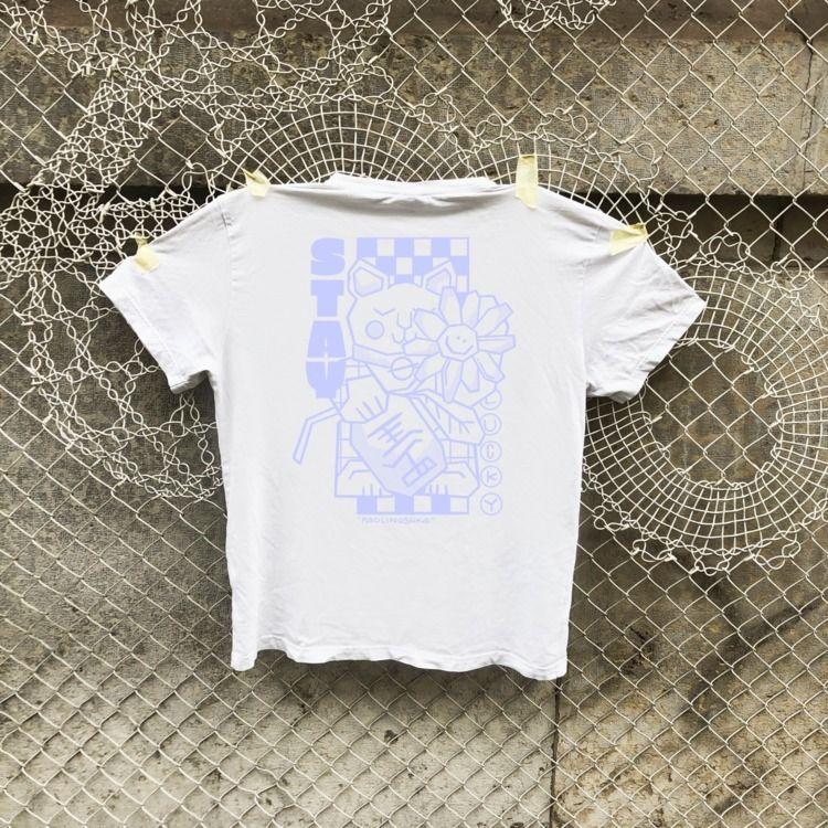 EVERPRESS - tshirt, textiledesign - paolinoshka   ello