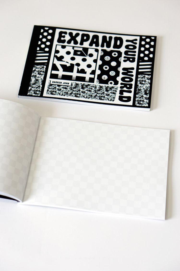 Brand Gridded Artist Sketchbook - darrenjohn | ello