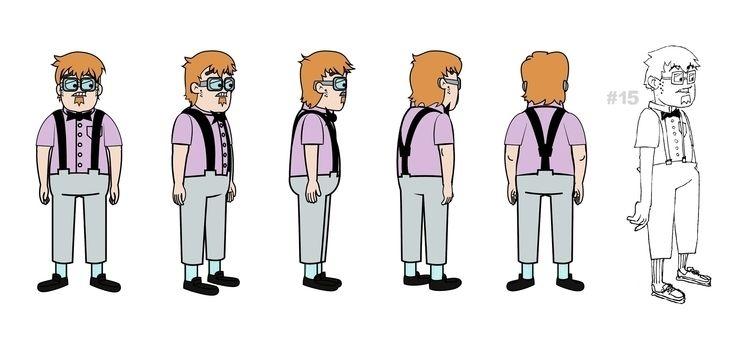 characterdesign, character, 2D - hauntsuku   ello