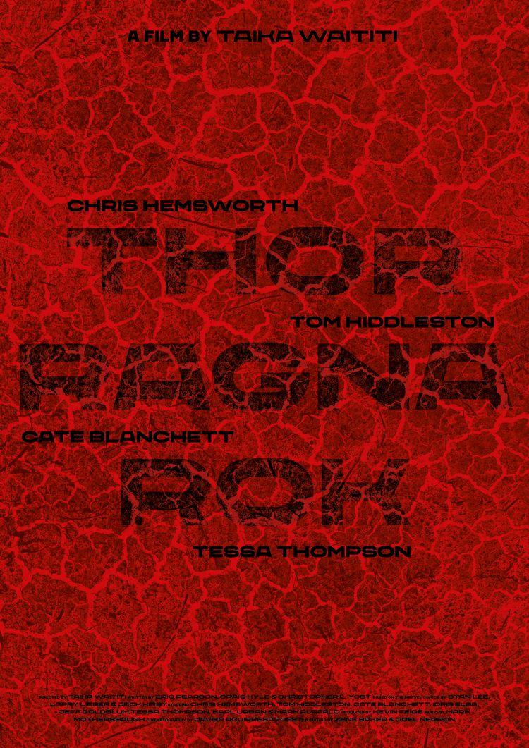 Film poster Thor: Ragnarok (USA - sarahschrauwen | ello