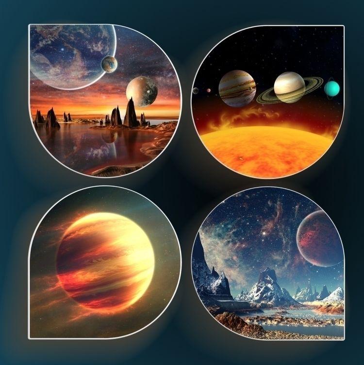 Collage (alien) planets Images  - ladymaja | ello