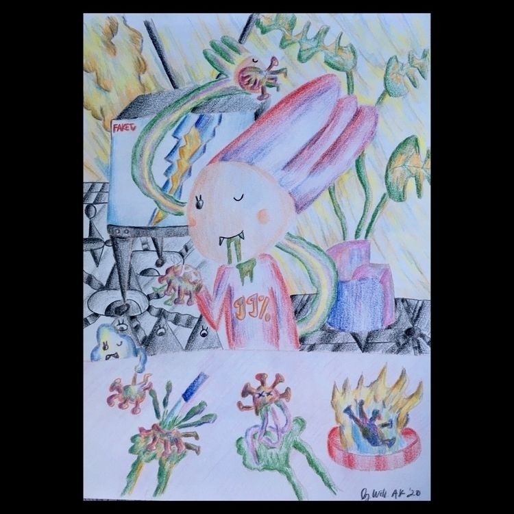 Color Pencil 2020 - bywillak | ello