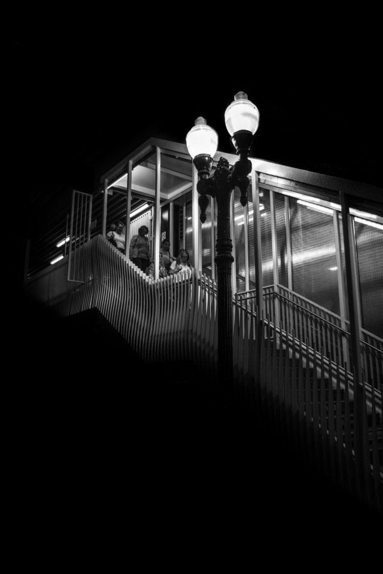 Loop. photograph Wabash Avenue  - vincentwinther | ello