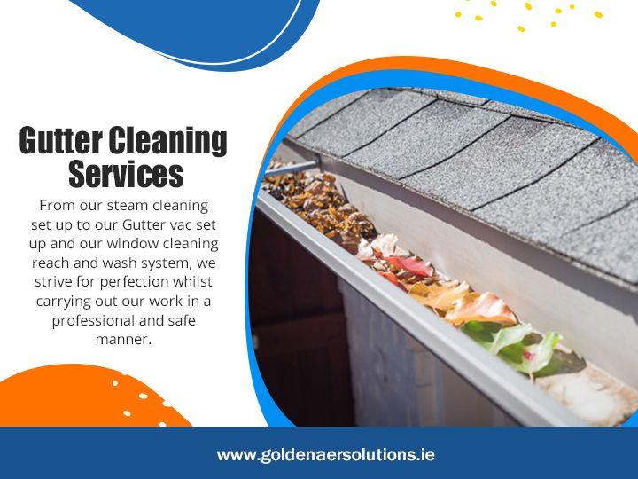 Gutter Cleaning Services Schedu - goldenaersolutions   ello