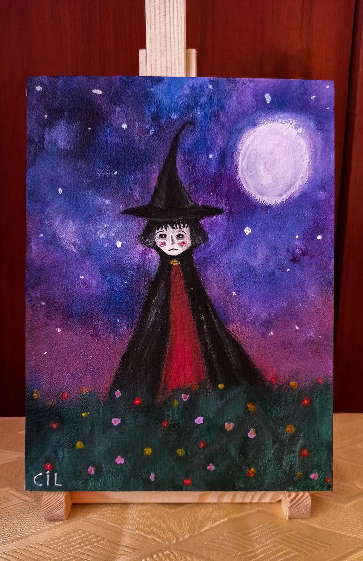 illustration - handmade, gothic - catinleaves | ello