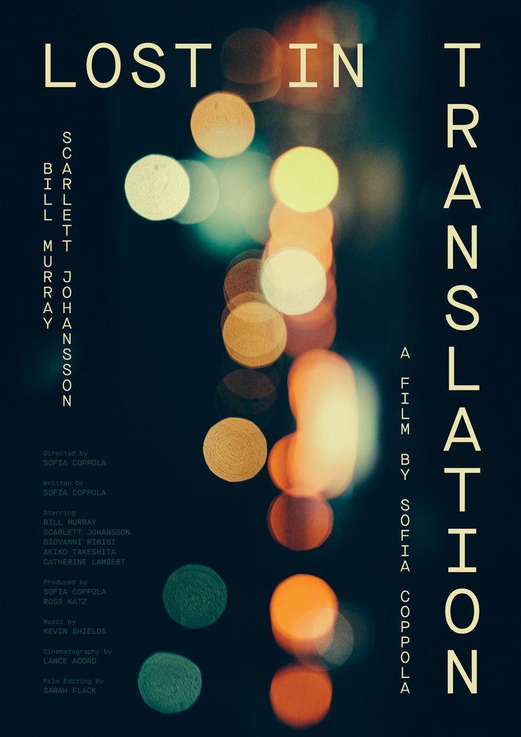 Film poster Lost Translation (U - sarahschrauwen | ello