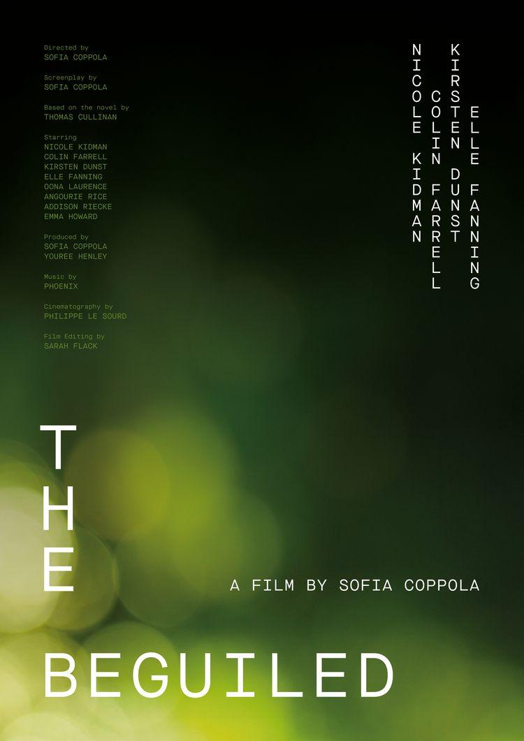 Film poster Beguiled (USA, 2017 - mathieuvancamp | ello