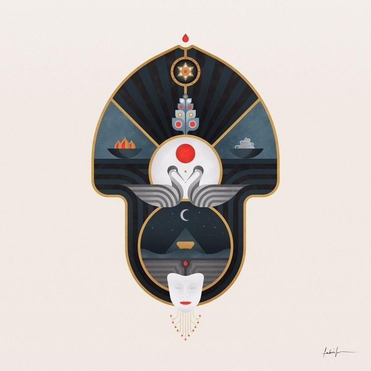 Meditations Digital Illustratio - fabioissao | ello