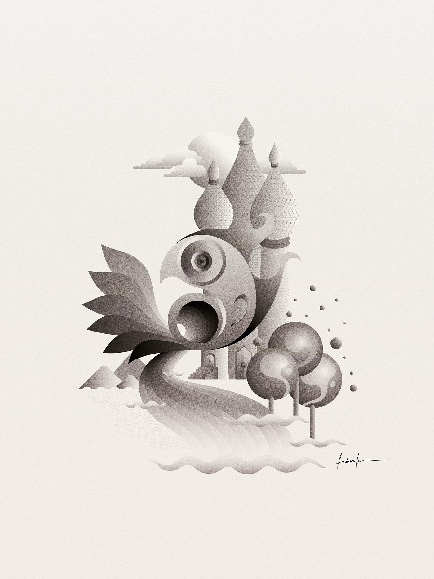 Kingdom, 2016. Digital illustra - fabioissao | ello