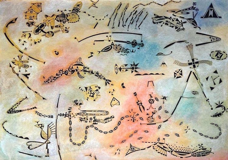 1994 Untitled drawing/painting  - dirkmarwig | ello