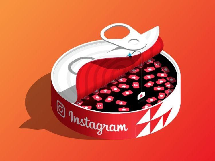Instagramming vector illustrati - kirp | ello