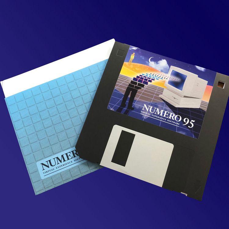 Housed floppy disc replica, Num - ellotapesandvinyl | ello