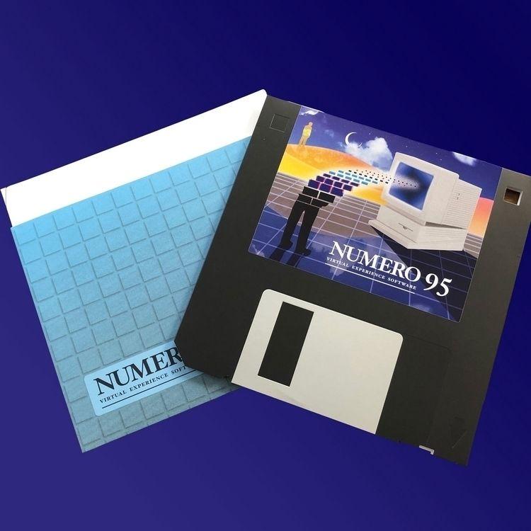 Housed floppy disc replica, Num - ellotapesandvinyl   ello