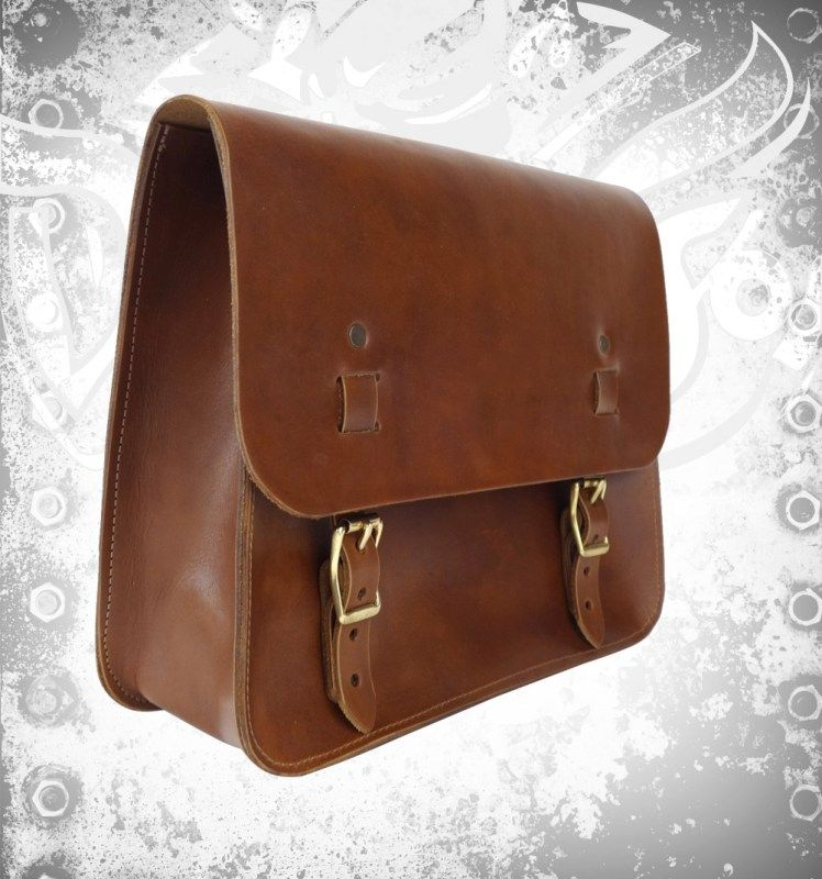 Men Devilson Leather Saddle Bag - mrstyless   ello