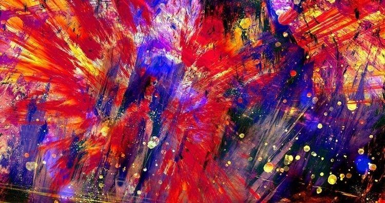 La Mirada SuperRare - Abstract, AbstractExpressionism - wgmeets | ello