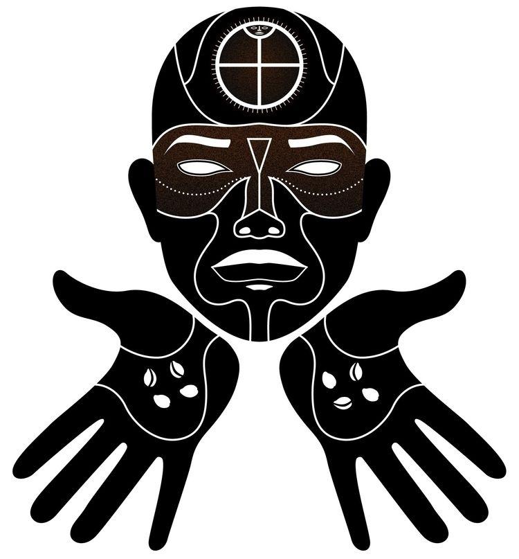 connected - illustration, african - mariosupa | ello