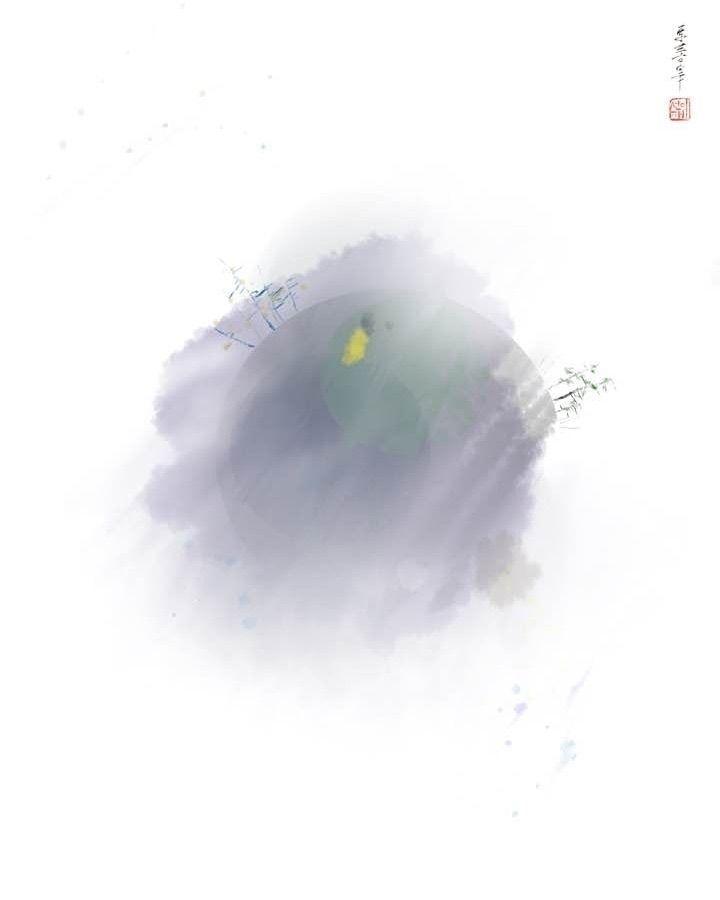 untitled planet#1 ipad / procre - eugenesunjae | ello