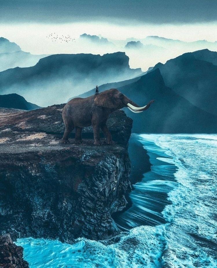 horizon!  - photoshop, art, design - nick_asphodel | ello