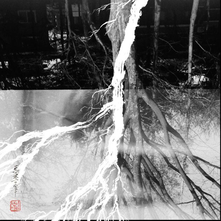 elixir drawing + double exposed - eugenesunjae | ello