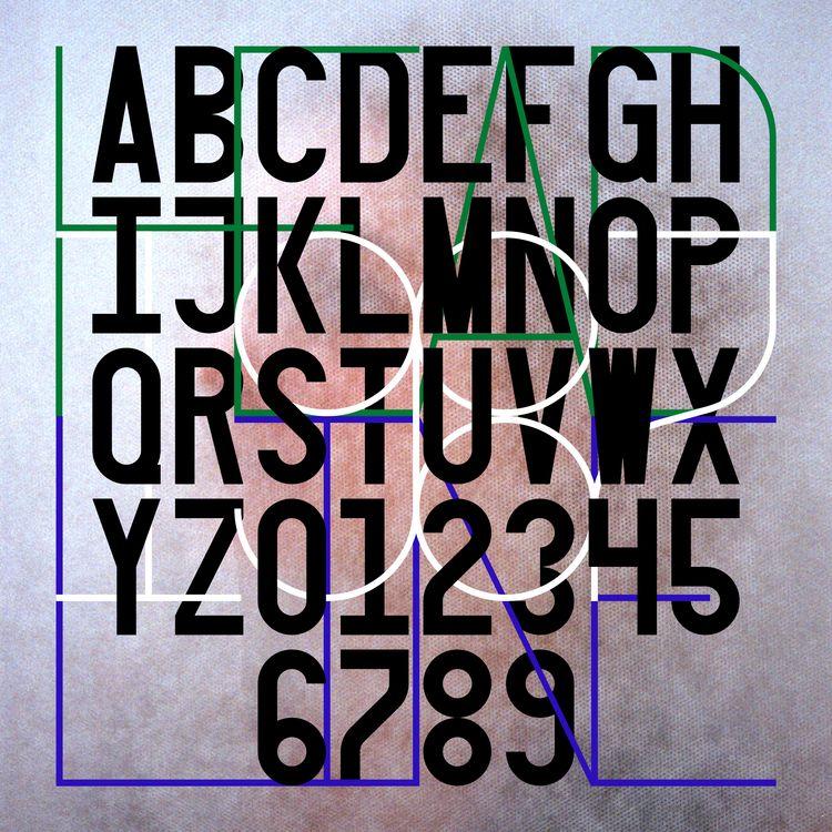 Headline 1987 - typography, typedesign - gabrielnazoa | ello