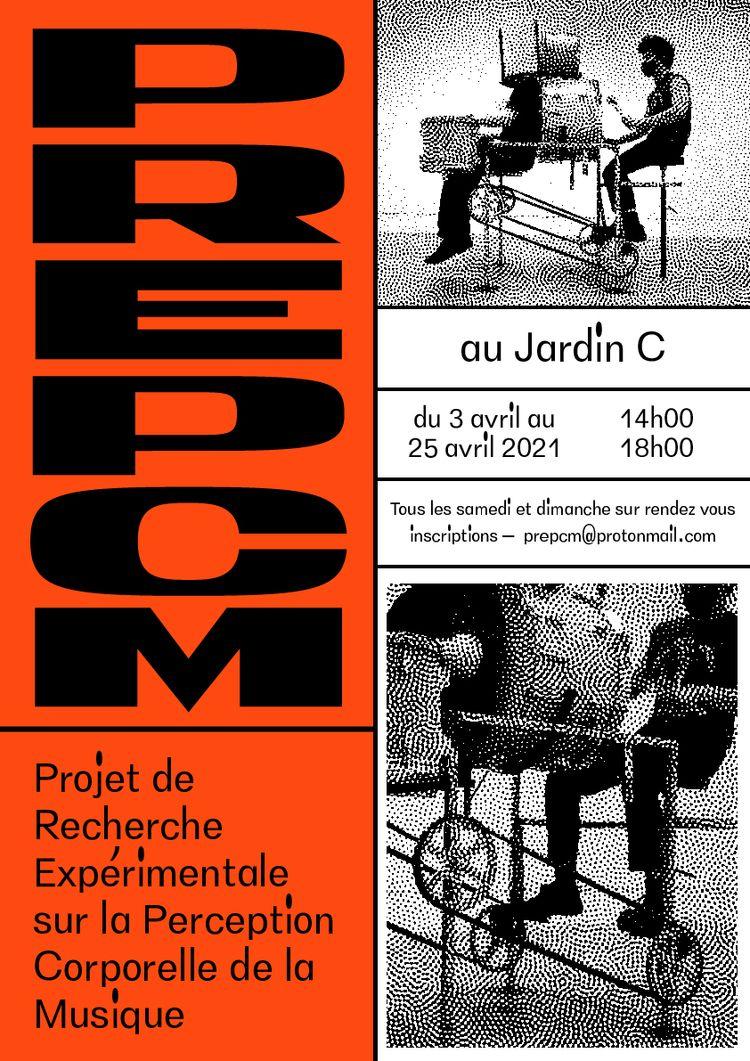 Affiche pour PREPCM au Jardin P - molonom | ello