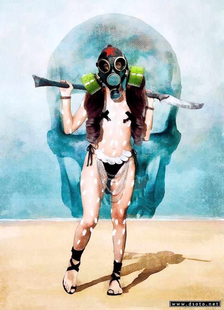 deadly wasteland En el paramo m - dsoto | ello