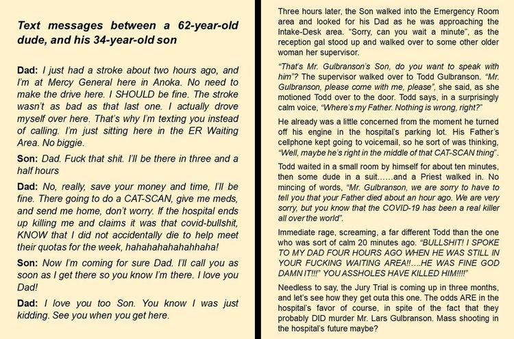 absurdly tragic fictional story - drtcsaxedd | ello