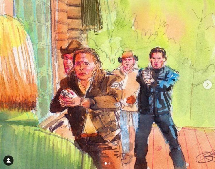 Twin Peaks study sketchbook - kennyroutt | ello