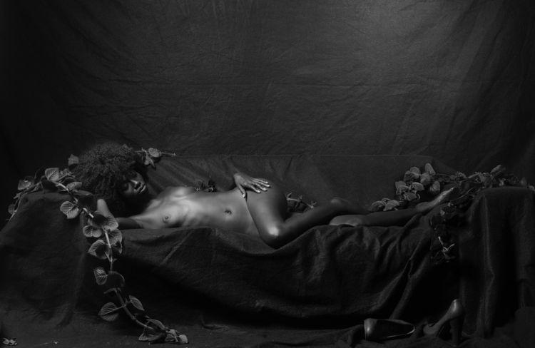 BlackPantherGirl dream / Photog - egarces | ello