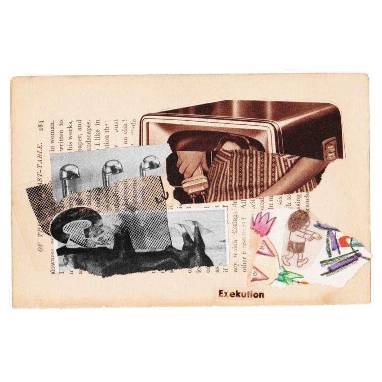 Exekution - collage, collageart - cultofsharon | ello
