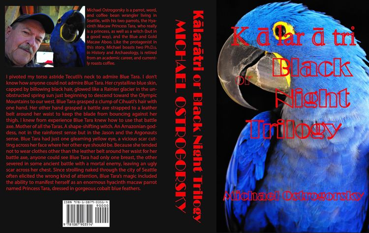 Blue Parrot Books. Kālarātri Bl - michaelostrogorsky   ello