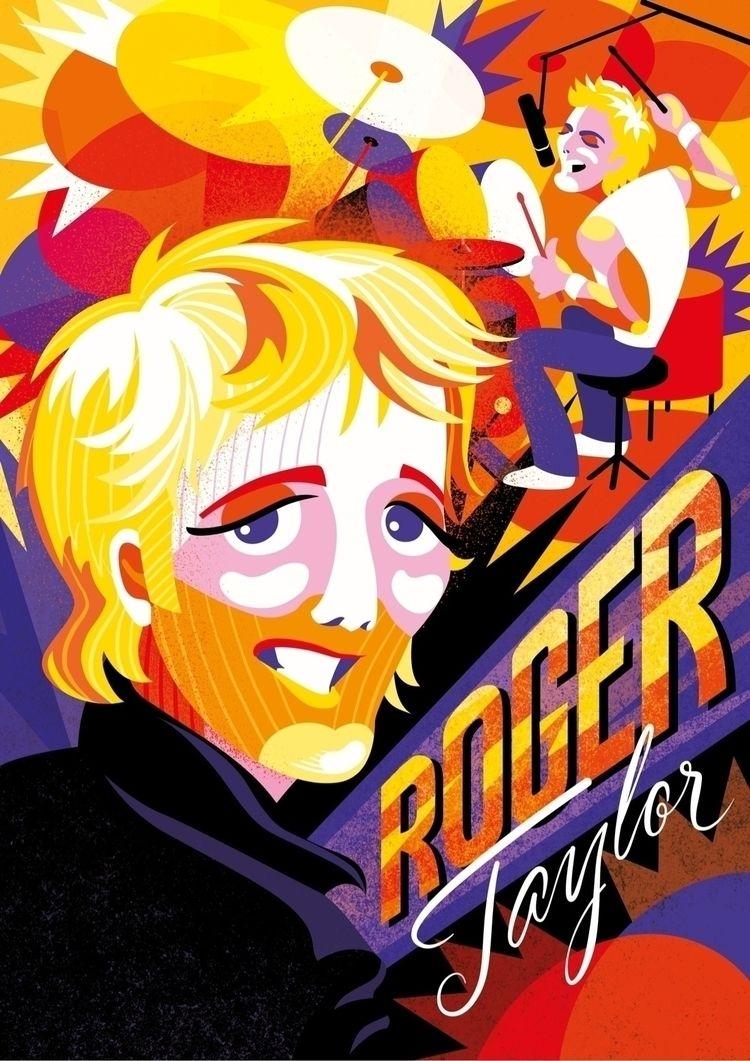 Queen backstage series 4/4: Rog - juliakerschbaumer | ello