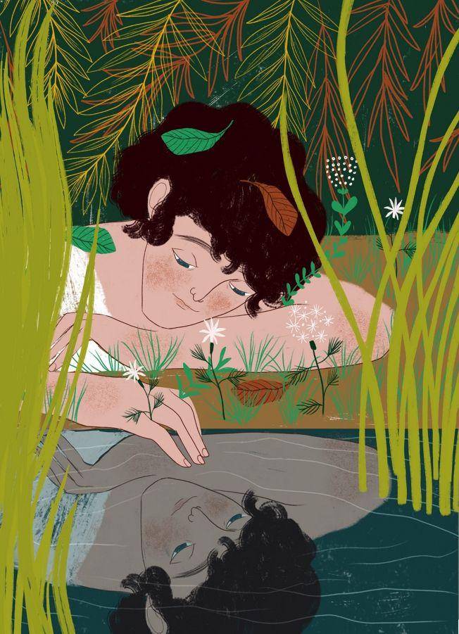 Narcissus, 'Storie Miti del mon - spoto | ello