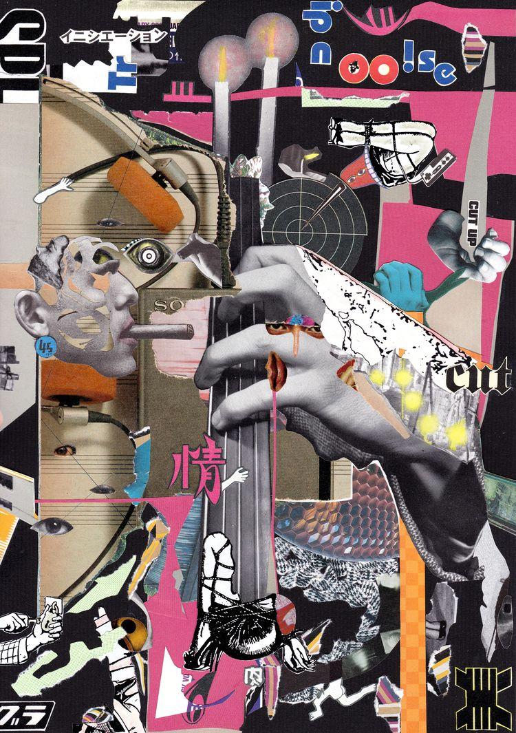 fumin oukoku handmade collage + - tsun-zaku | ello