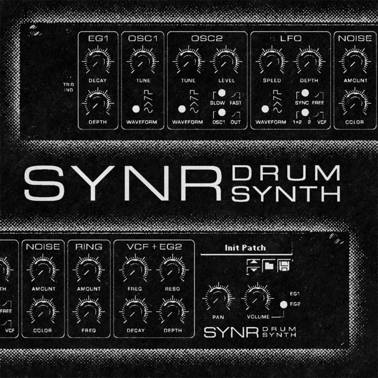 SYNR - Drum Synth Rack Extensio - eriksoderberg | ello