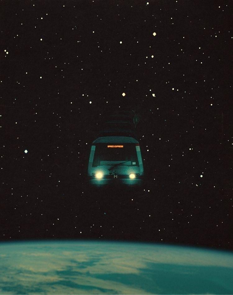 Space Express - collage, digitalart - taudalpoi   ello