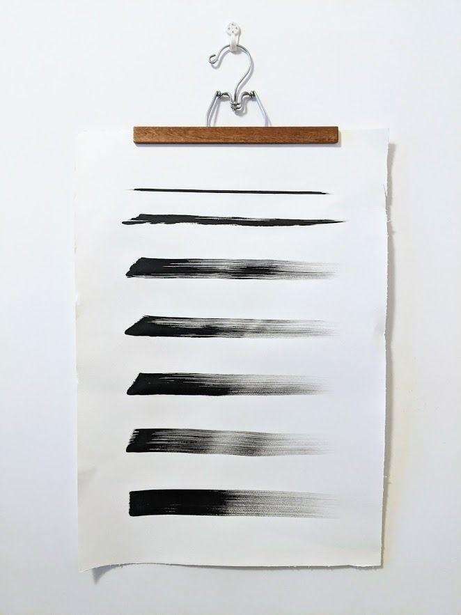 illustration, ink, paintbrush - jinnyly   ello