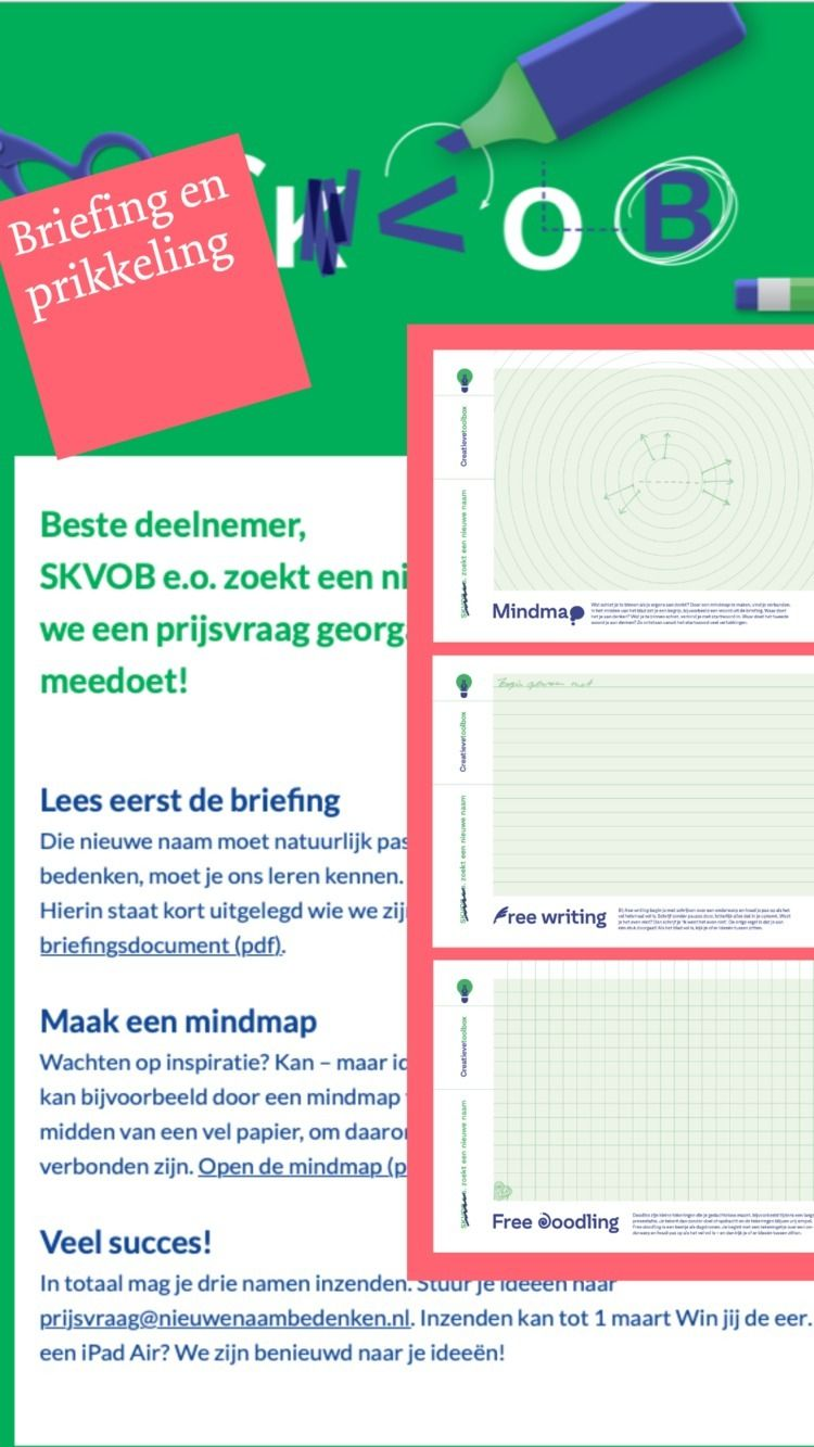 NL || Je achterban vragen om de - otekst | ello