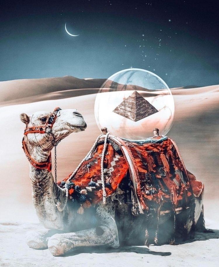  mystery pyramids!  - photoshop - nick_asphodel | ello