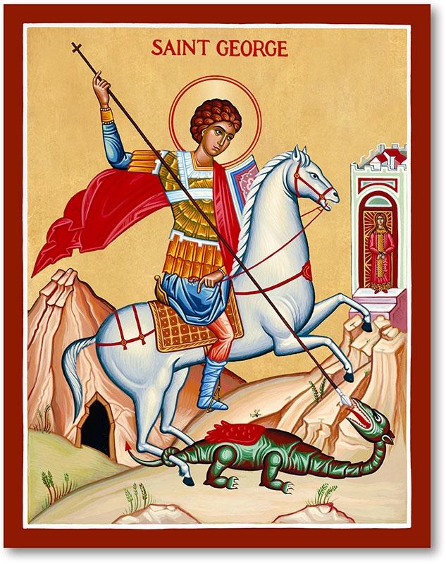 HISTORY ST GEORGE DRAGON Saint  - billpetro | ello